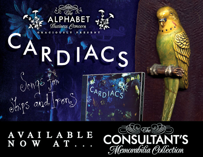 Songs for Ships and Irons on CD from cardiacs.com